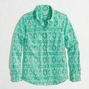 JCrew Ikat Shirt